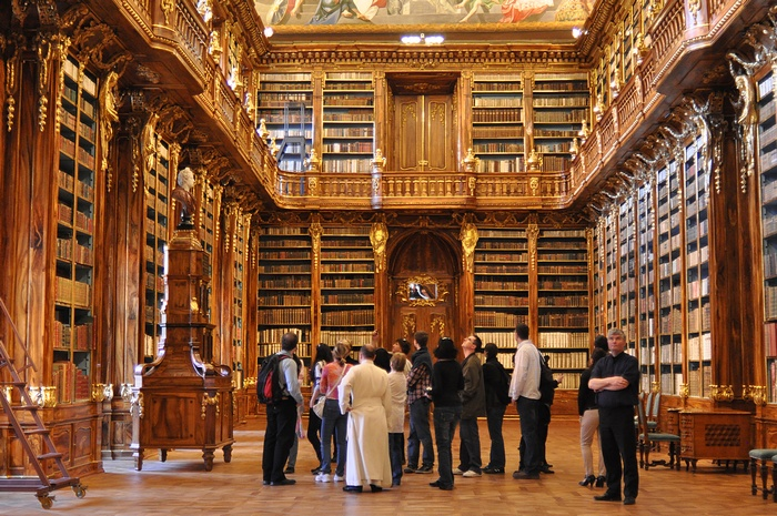 Prague bibliotheque