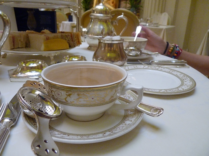 afternoon tea Ritz London