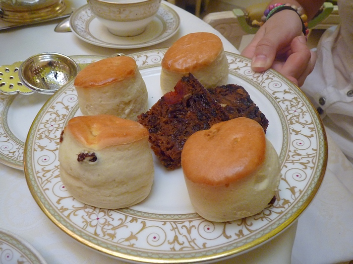 gateaux afternoon tea Ritz