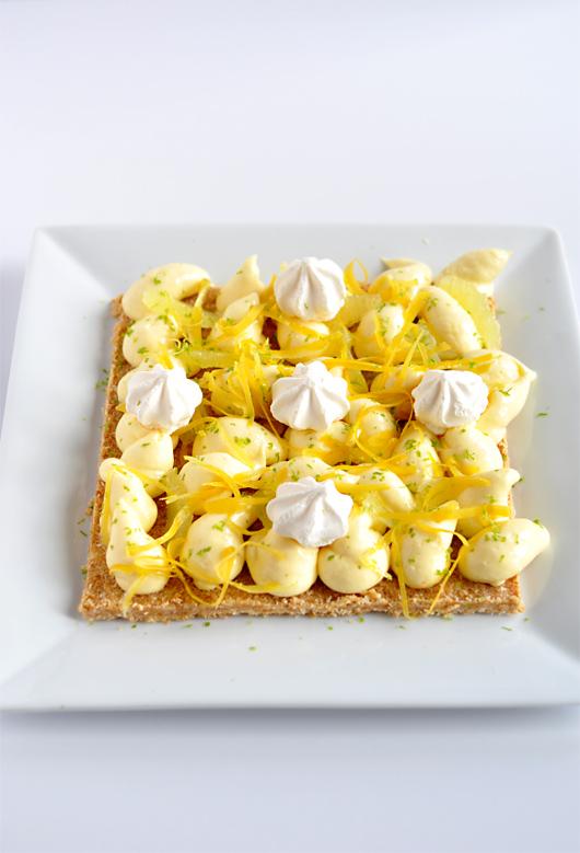 Le Sablé Linzer au Citron de Christophe Michalak