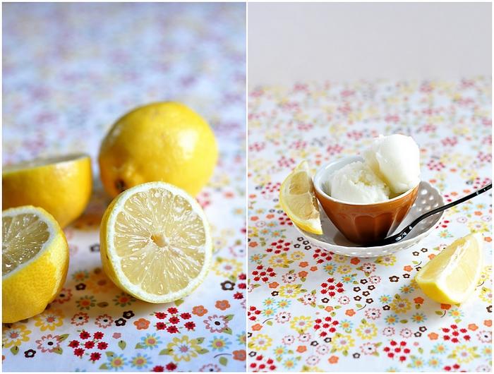 sorbet citron bergamote