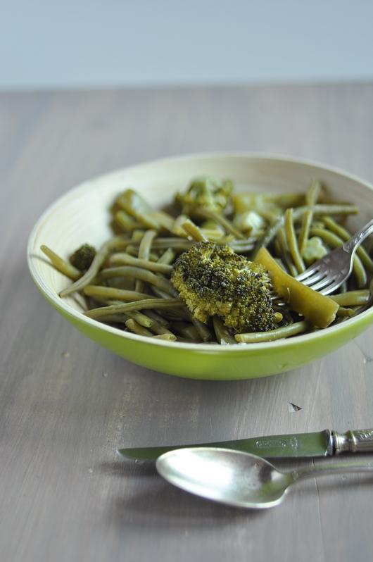 haricots verts brocoli