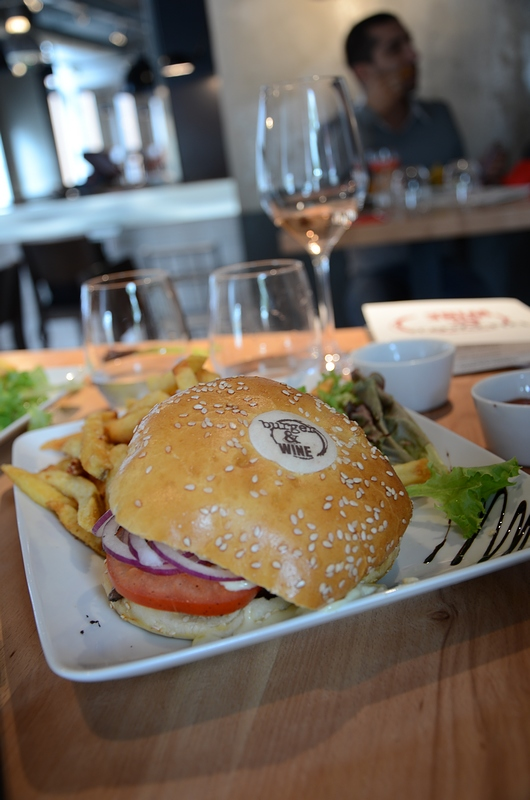 Burger and Wine Lyon