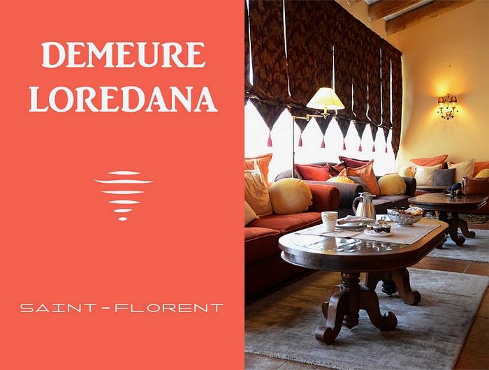 Demeure Loredana Corse Saint Florent