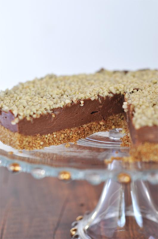cheesecake au nutella a taste of my life. Black Bedroom Furniture Sets. Home Design Ideas
