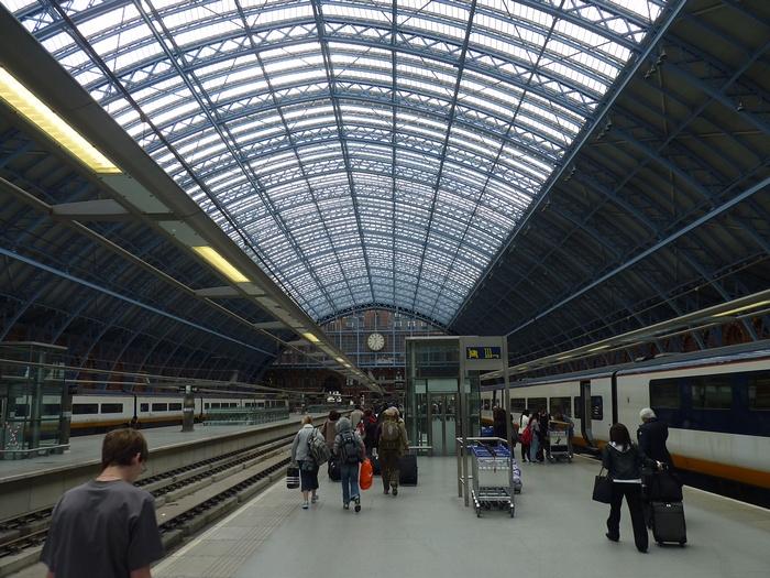 Eurostar Saint-Pancras gare