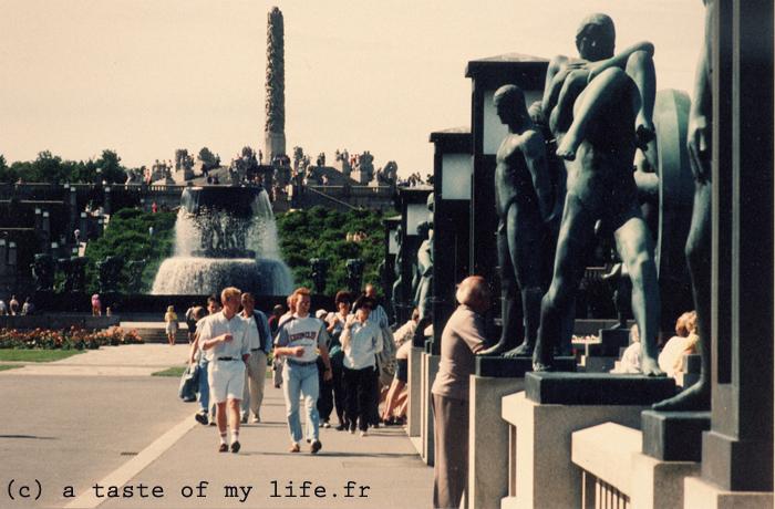 parc Norvège statues
