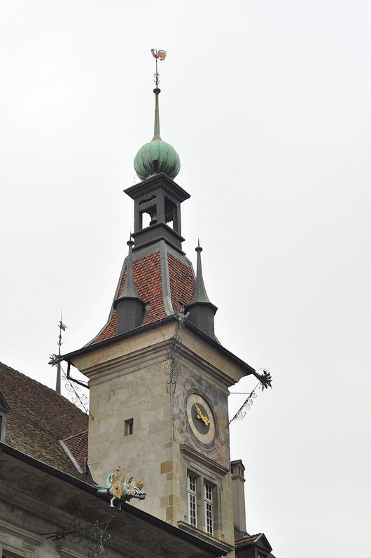 clocher hôtel de ville Lausanne