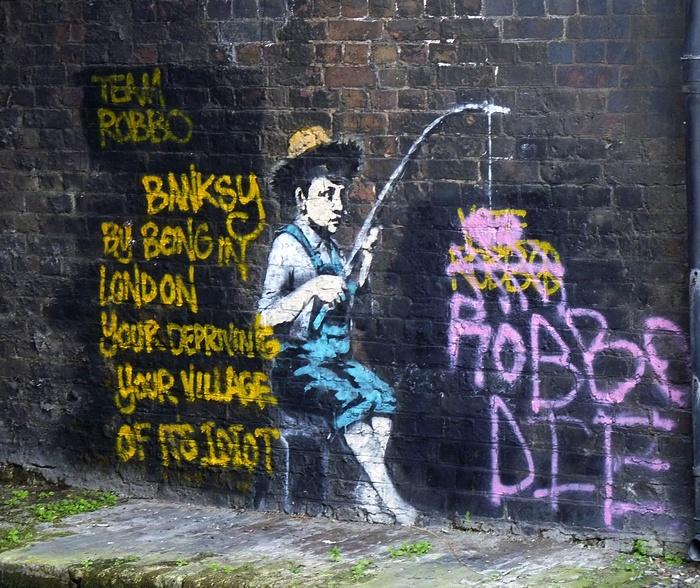 street art Camden Londres