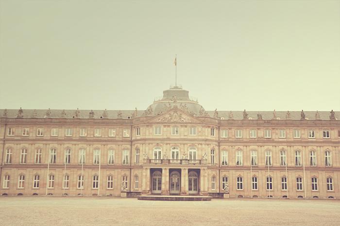 nouveau château Stuttgart