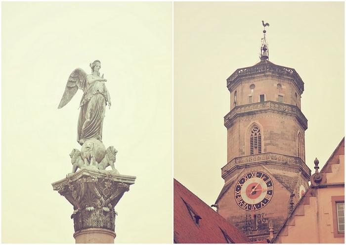 clocher église collégiale stuttgart