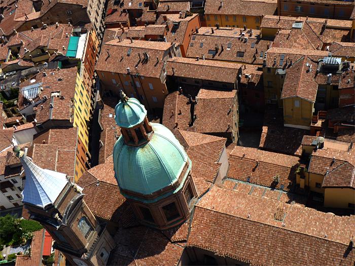 toits de Bologne Italie