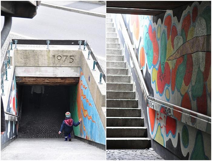 escaliers Lausanne