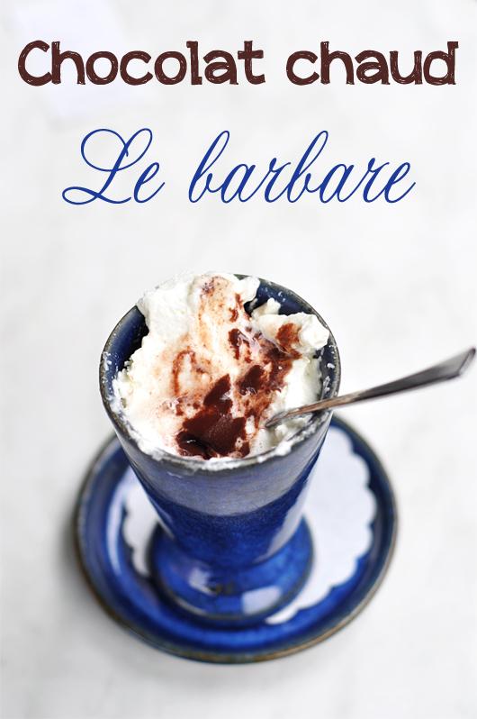 chocolat chaud le Barbare Lausanne
