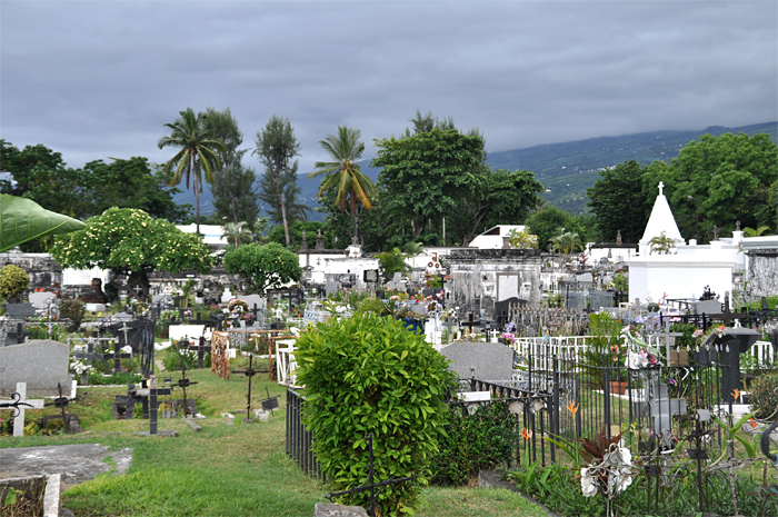 Reunion cimetiere marin Saint Paul