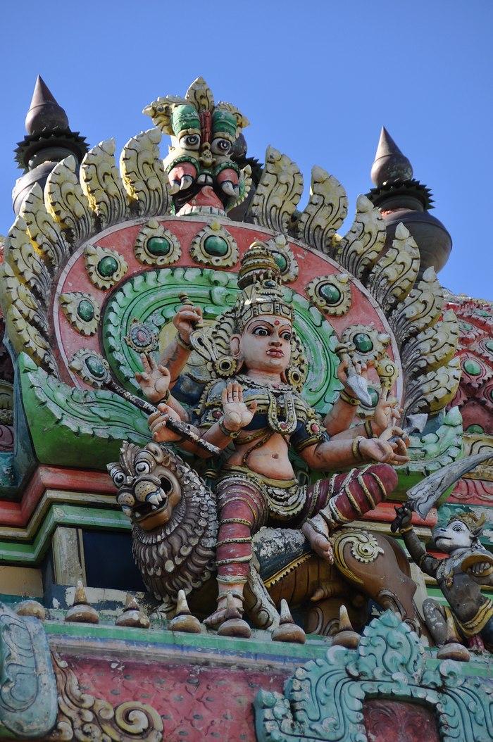 temple hindou Saint Pierre La Réunion