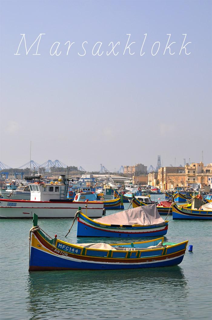 vue du port de Marsaxklokk