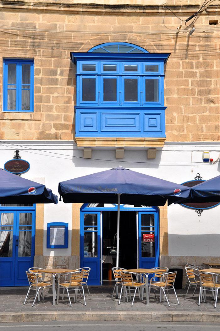 terrasse café Malte Marsaxklokk