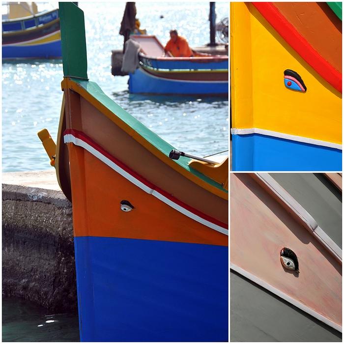 bateaux luzzu Malta