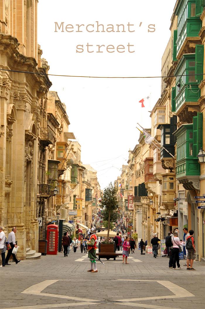 Malte la Valette Merchant's Street