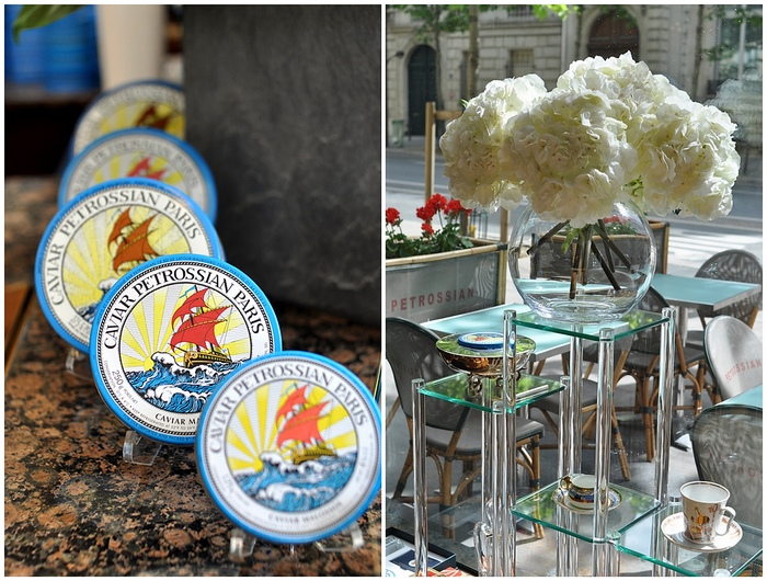 boutique Petrossian Paris