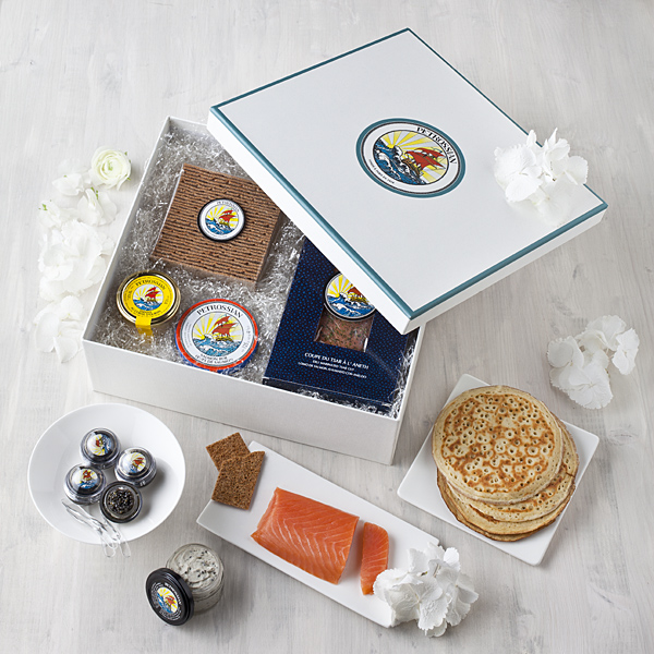 coffret brunch petrossian
