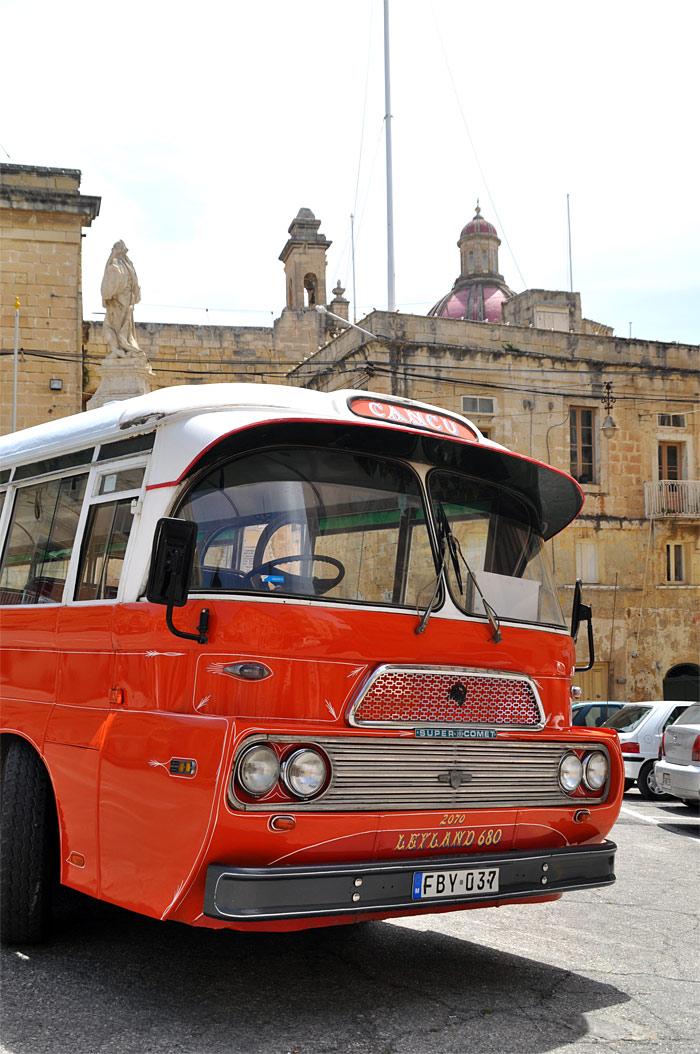autobus de Malte