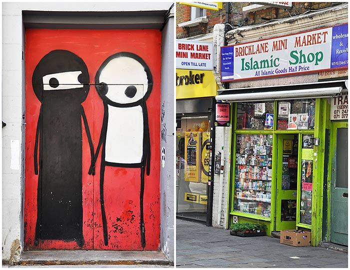 Street art Londres Stik
