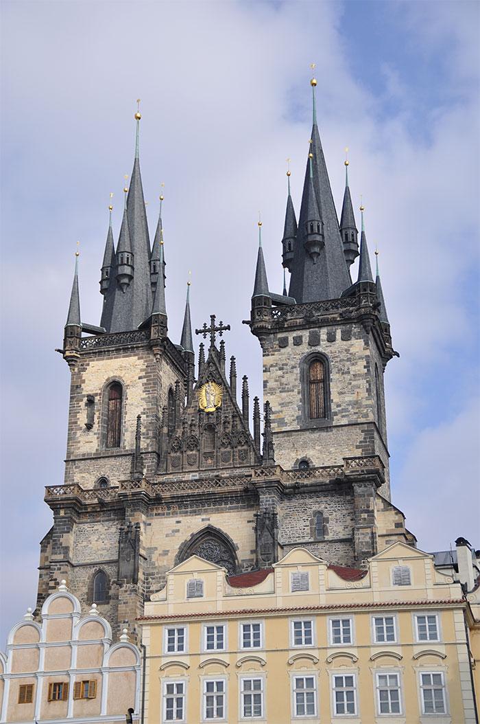 Notre Dame du Tyn Prague