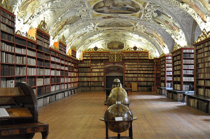 bibliothèque Strahov Prague