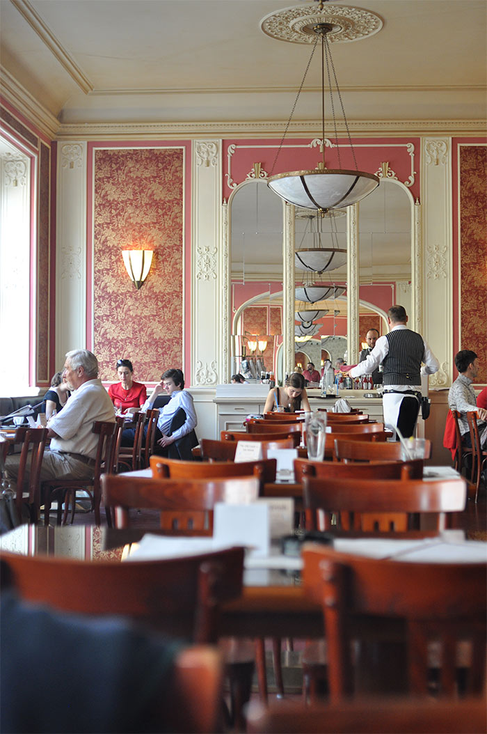 Cafe Louvre Prague
