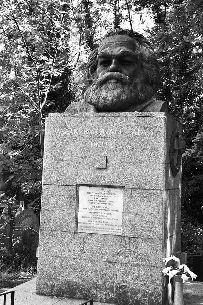 tombe Karl Marx Highgate