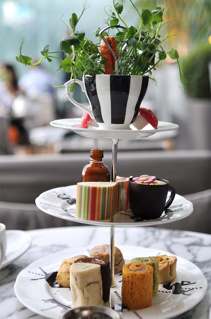 Mad Hatter's tea Sanderson London