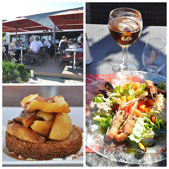 la Vigie restaurant golfe Morbihan