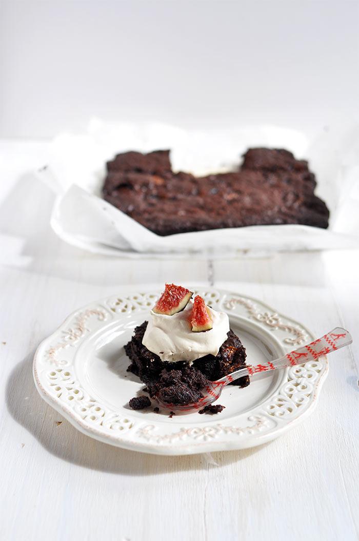gateau chocolat aux figues