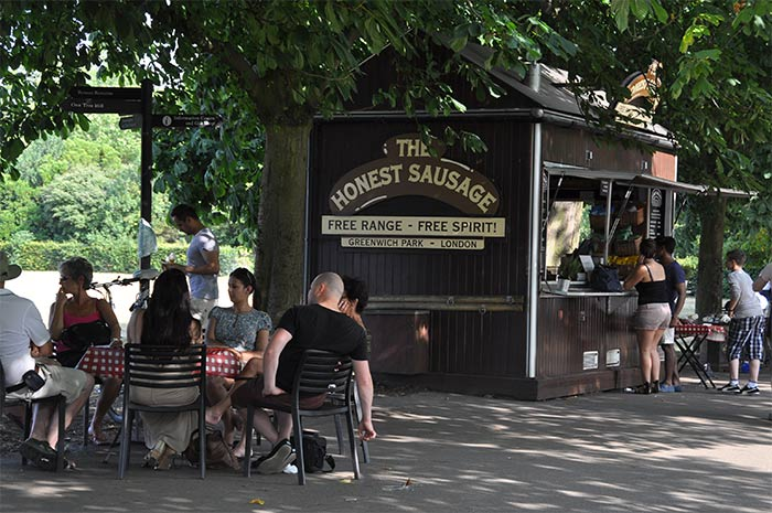 The Honest Sausage Greenwich
