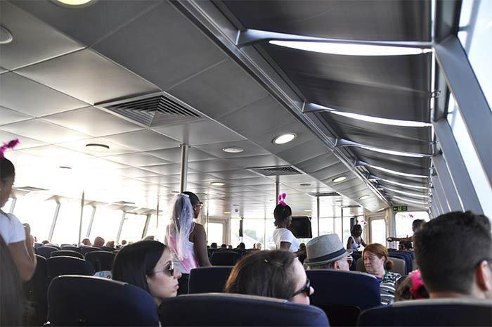 bateau croisière Tamise