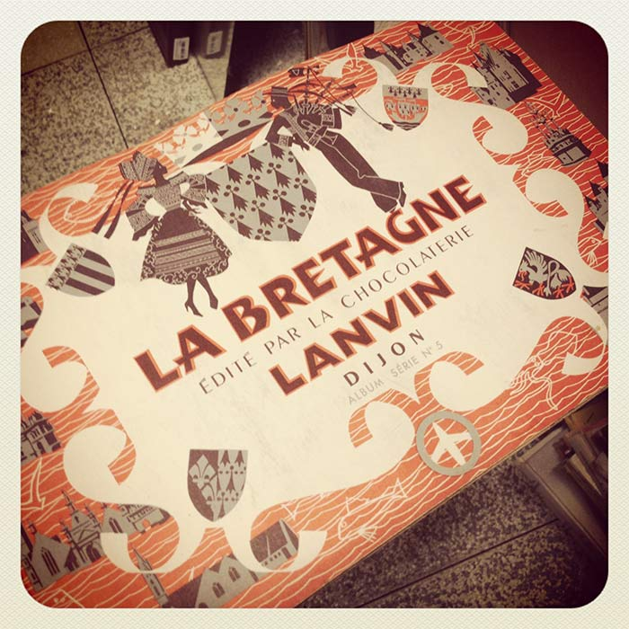 chocolat Lanvin la Bretagne