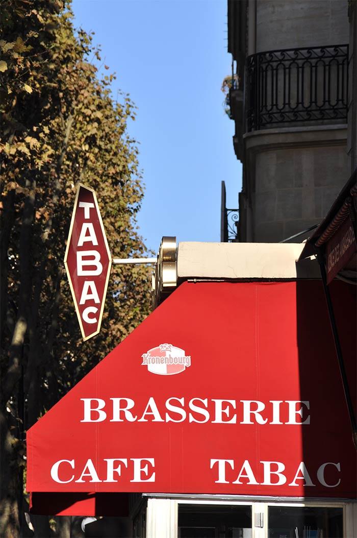 brasserie tabac Paris