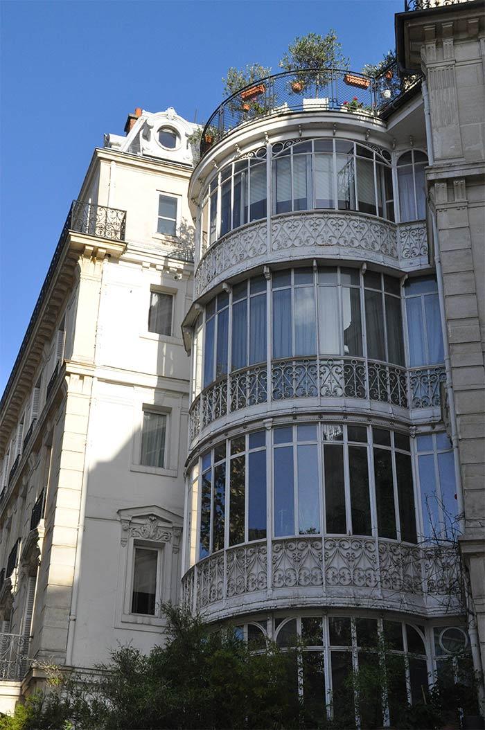 immeuble véranda Paris