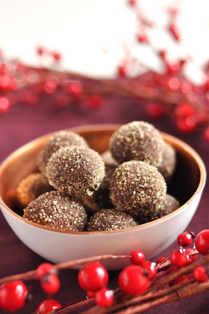 truffes chocolat piment