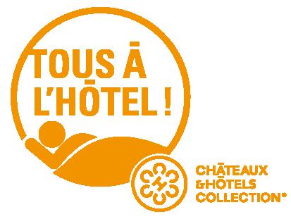 Logo Tous à l'Hôtel chez Châteaux & Hôtels Collection
