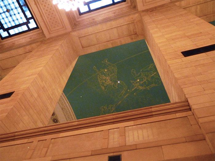 New York Grand Central plafond