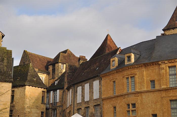 les toits de Sarlat Périgord