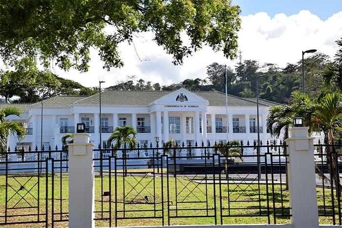 résidence présidentielle Roseau Dominique