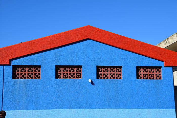 maisons de Roseau Dominique