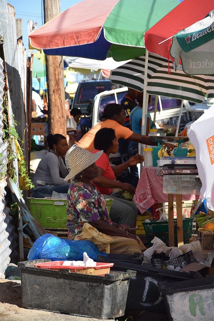marché Roseau Dominique