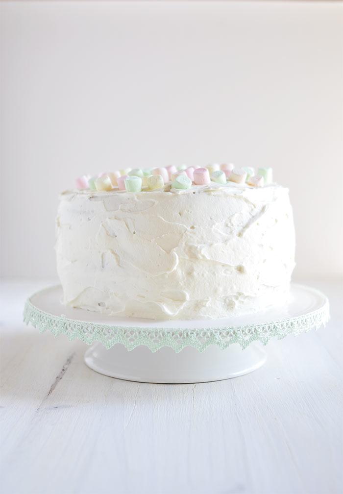 gâteau chamallow