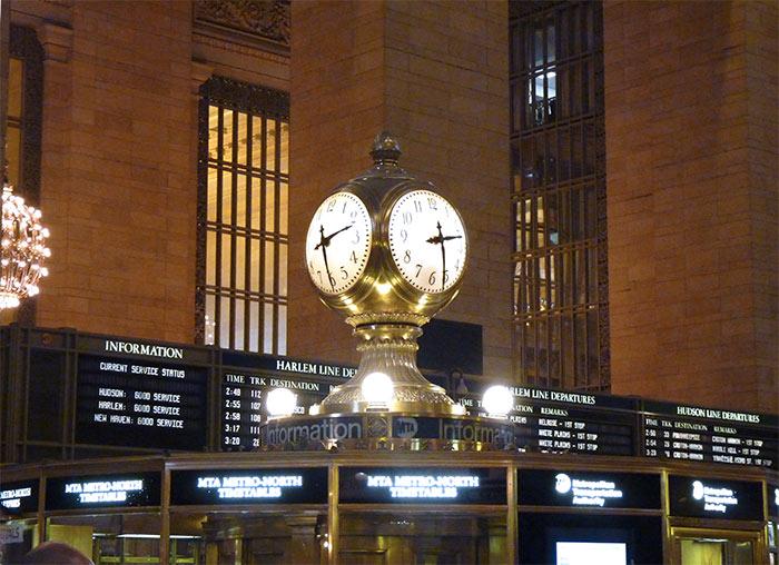 New York Grand Central horloge