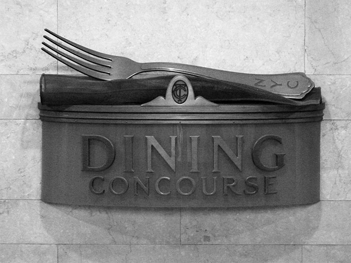 Dining concourse Grand Central